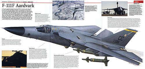 f-111超音速战斗轰炸机