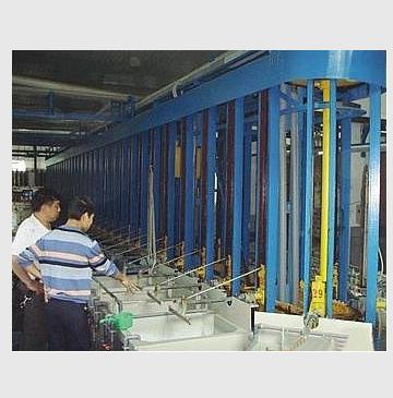 电镀生产流水线,也叫电镀流水线