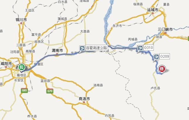 灵宝燕子山风景区地图