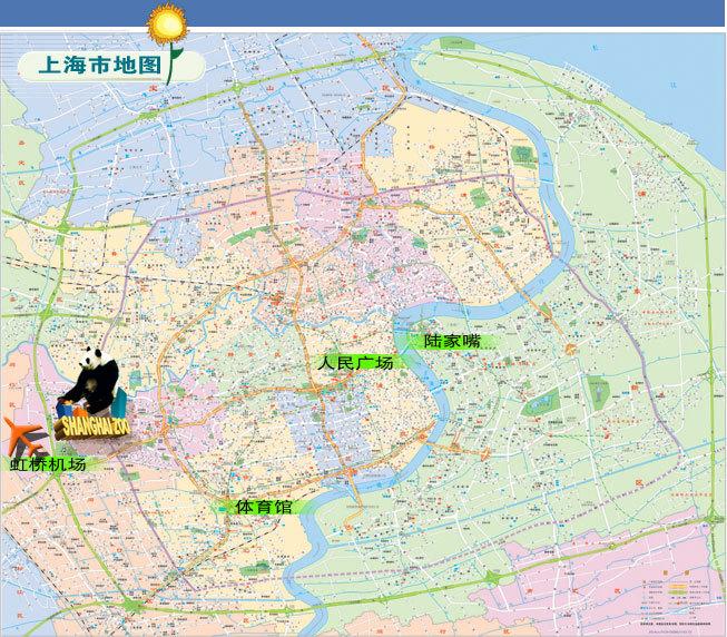 上海动物园地理位置