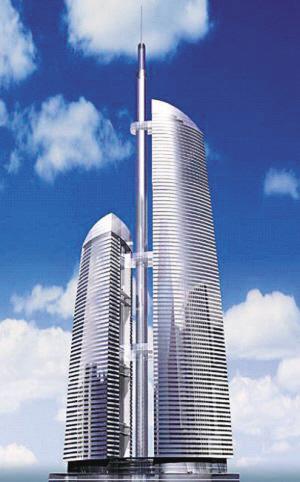 世界前五大高塔