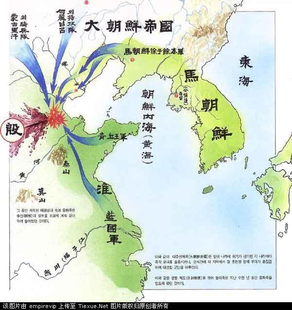 1910年的中国地图