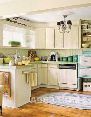 厨房的装饰设计不应影响厨房的采光,通风,照明等效果.   8.图片