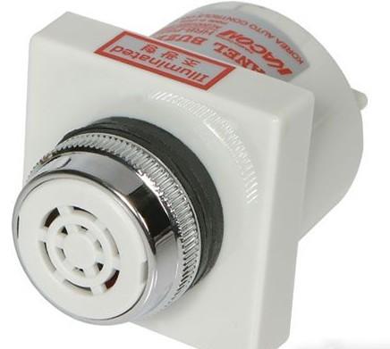 电子式蜂鸣器一般由简单的电子电路和压电式喇叭