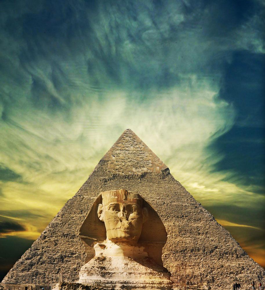埃及金字塔图片 图片素材