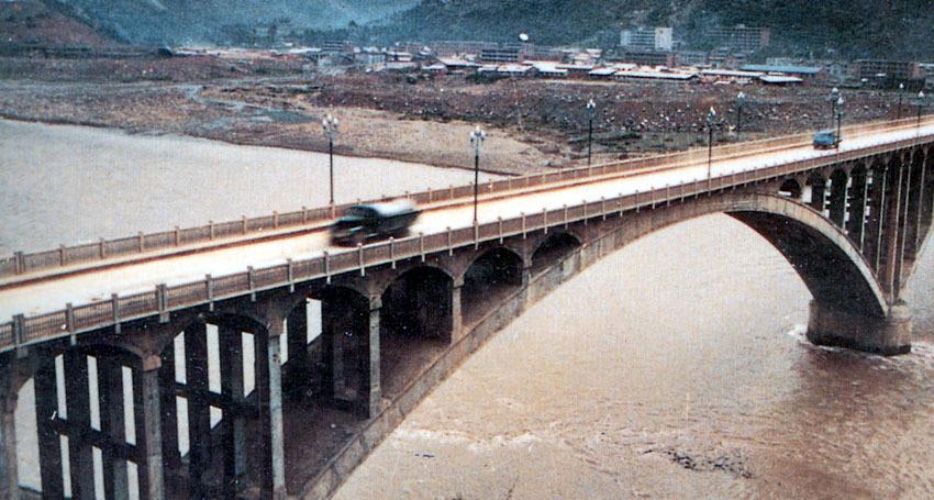 肋拱桥断面设计图