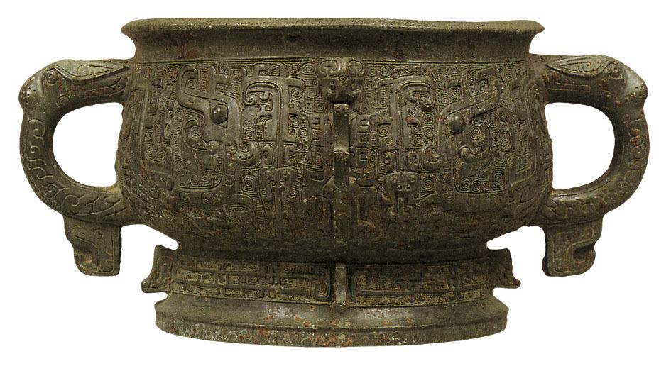 西周青铜器的特点_商代青铜器纹样