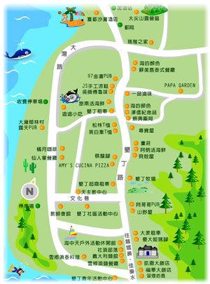 (图)垦丁地图