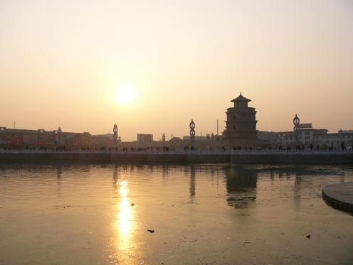 郓城观音寺塔图片