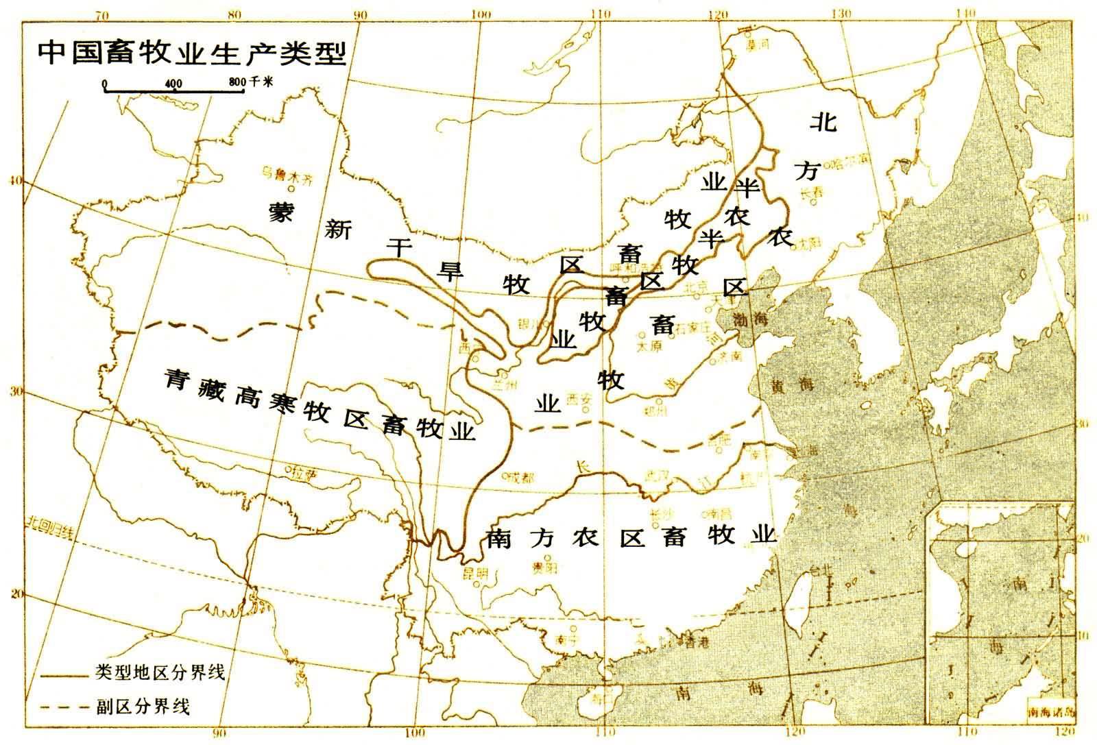 山区牧场 内蒙古 呼伦贝尔 地理 风光 田园风光
