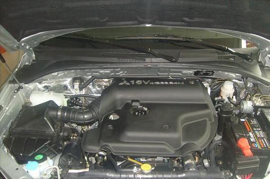 汽车碟刹结构图解释