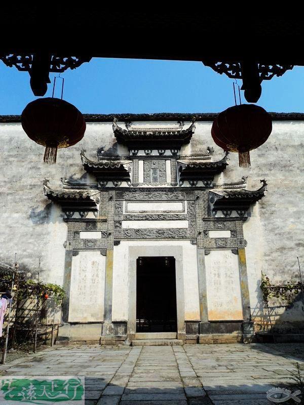 宏村古建筑群