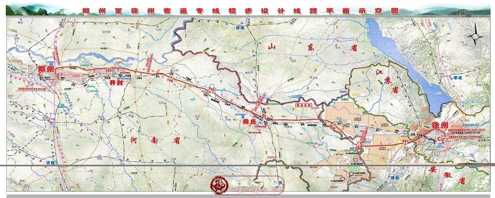 河南高铁地图全图