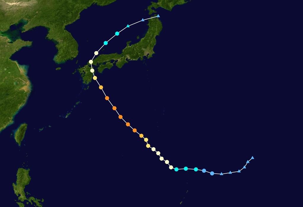 9号台风天兔路径图_台风最新消息2013台风天兔最新路径图