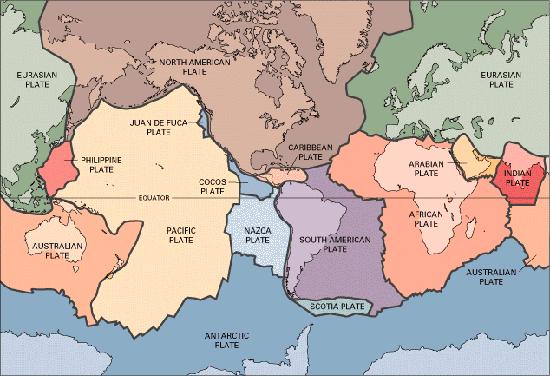亚欧板块可分出东南亚,阿拉伯半岛,土耳其等小板块,印度洋板块可分出