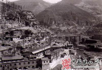 中共中央西北局旧址位于陕西省延安