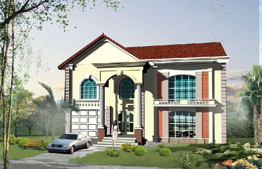 别墅设计必须满足主人的生活需求,虽然简约主义,新古典主义,简欧