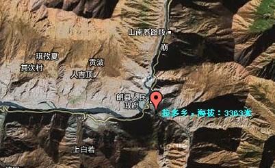 西藏林芝地区朗县拉多乡