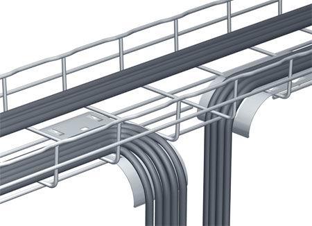 管线等设置情况,方便维修,以及电缆路由的疏密来确定电缆桥架的最佳