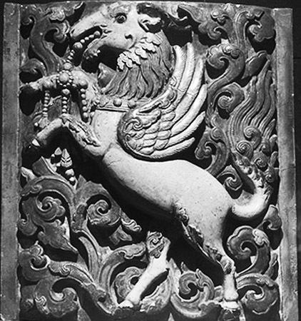 (图)大报恩寺琉璃塔上的浮雕