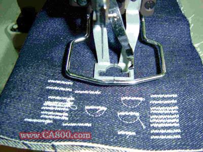 衣服拷边手工缝法图解