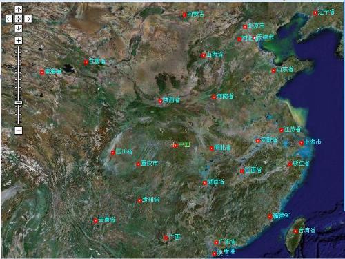 中国卫星地图全图日本地图