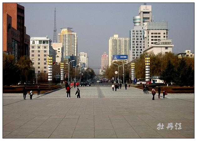 江南新城区坐落在牡丹江南岸